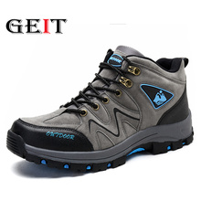 New Hiking Shoes Outdoor Adult Men's Hiking Shoes Autumn and Winter Models Warm and Comfortable Breathable Big Shoes Size 39-44