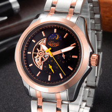 Brand  Luxury S watch Rlo  dz Auto Date Week Display  Luminous Diver Watches  Stainless Steel Wrist gift Male Clock men watches gold luxury brand guanqin watches with moon phase date month week luminous 24 hours display clock sapphire man watch