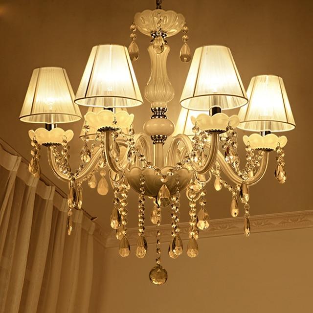 Neue Moderne Weiße kristall kronleuchter für Wohnzimmer Schlafzimmer ...