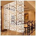 Украшение для дома 4 шт Бабочка птица цветок висячие экран разделительная панель занавес для комнаты дома белый/черный/красный - фото