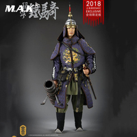 Full set with weapon gun KLG R016 1/6 Deputy General of Liaodong Guan Ning cavalry Action Figure Collection Doll Toys Gift