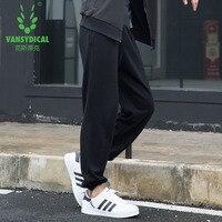 Sportbroek mens running fitness basketbal voetbal training broek katoenen Harlan broek zak