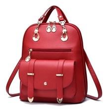 Рюкзак P1Perfect # новинка 2016 сумка леди корейской Модные тенденции ветер институт из искусственной кожи плечо женщины бесплатная доставка