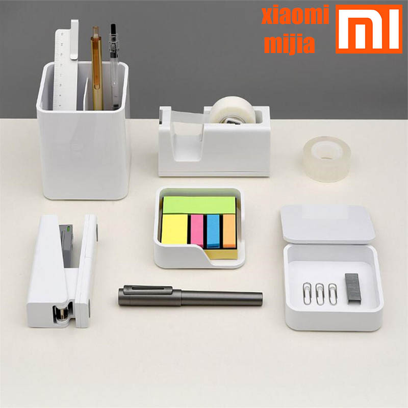 Xiaomi KACO LEMO Desktop storage box storage box Note box product box 3 in 1 assembly free simple design Work for the office fam(China)