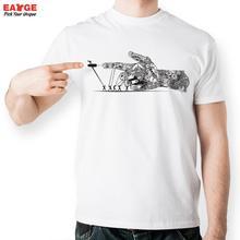 Ziehen Mechanische Arm T-shirt Design Inspiriert Durch Punk Kugel T-shirt Mode-stil Kühlen T-shirt Frauen Männer Gedruckt Top T