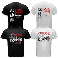 Japan Shotokan Karate Do Japanese Kanji MMA Mix Martial Arts Way Of Life T Shirt Men