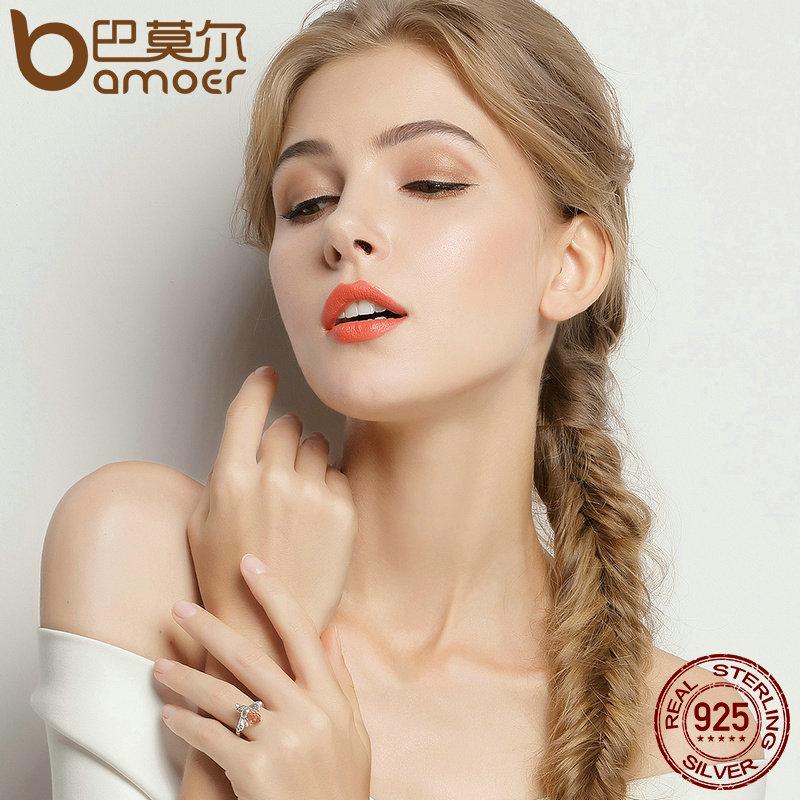 Bamoer 100% authentisch 925 sterling silber orange flügel tier biene - Modeschmuck - Foto 6