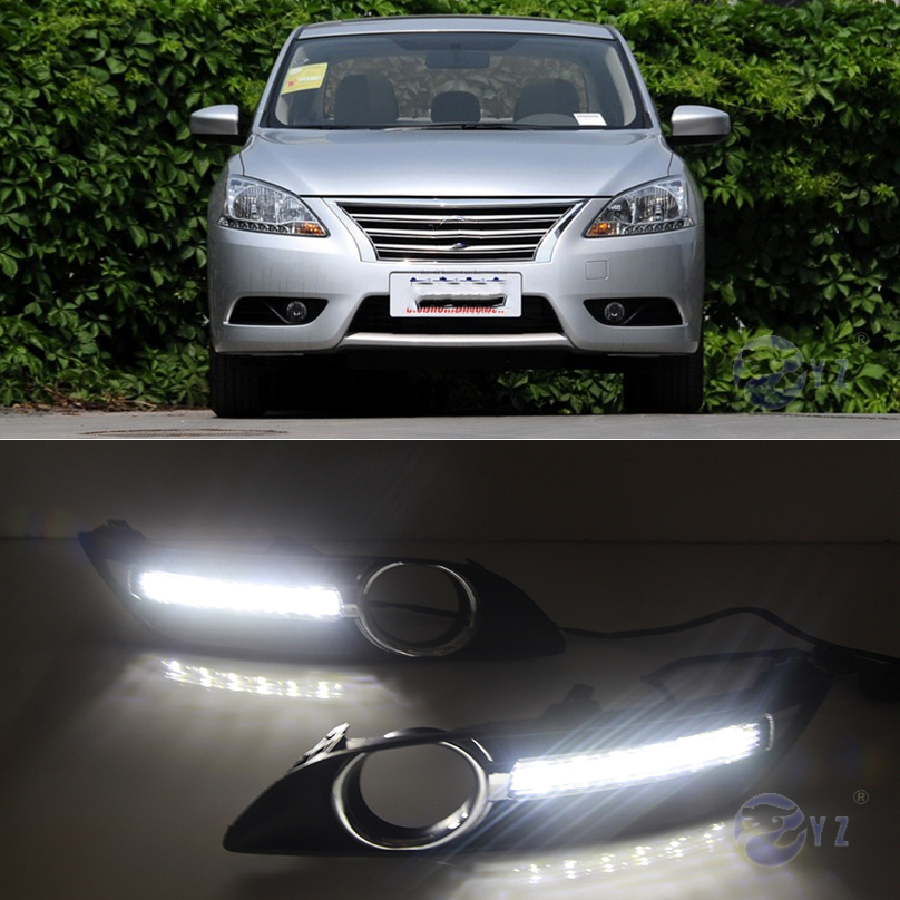 Drl For Nissan Sentra Sylphy 2013 2014 2015 Led Drl