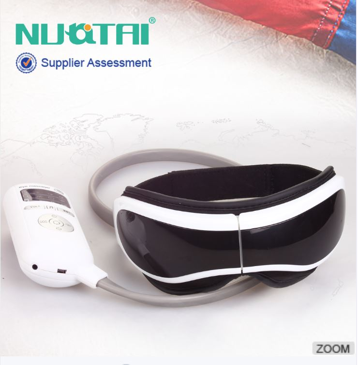 Vibration control eye massage instrument automatic folding eye massager hot compress live channels and collaterals