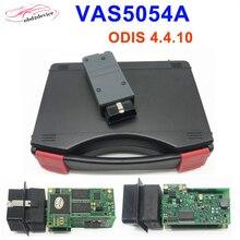 2019 новейший VAS 5054a ODIS 4.4.10 Bluetooth AM2300 OKI M6636B полный чип автомобиля диагностический инструмент VAS5054A Авто сканер withCarry случае