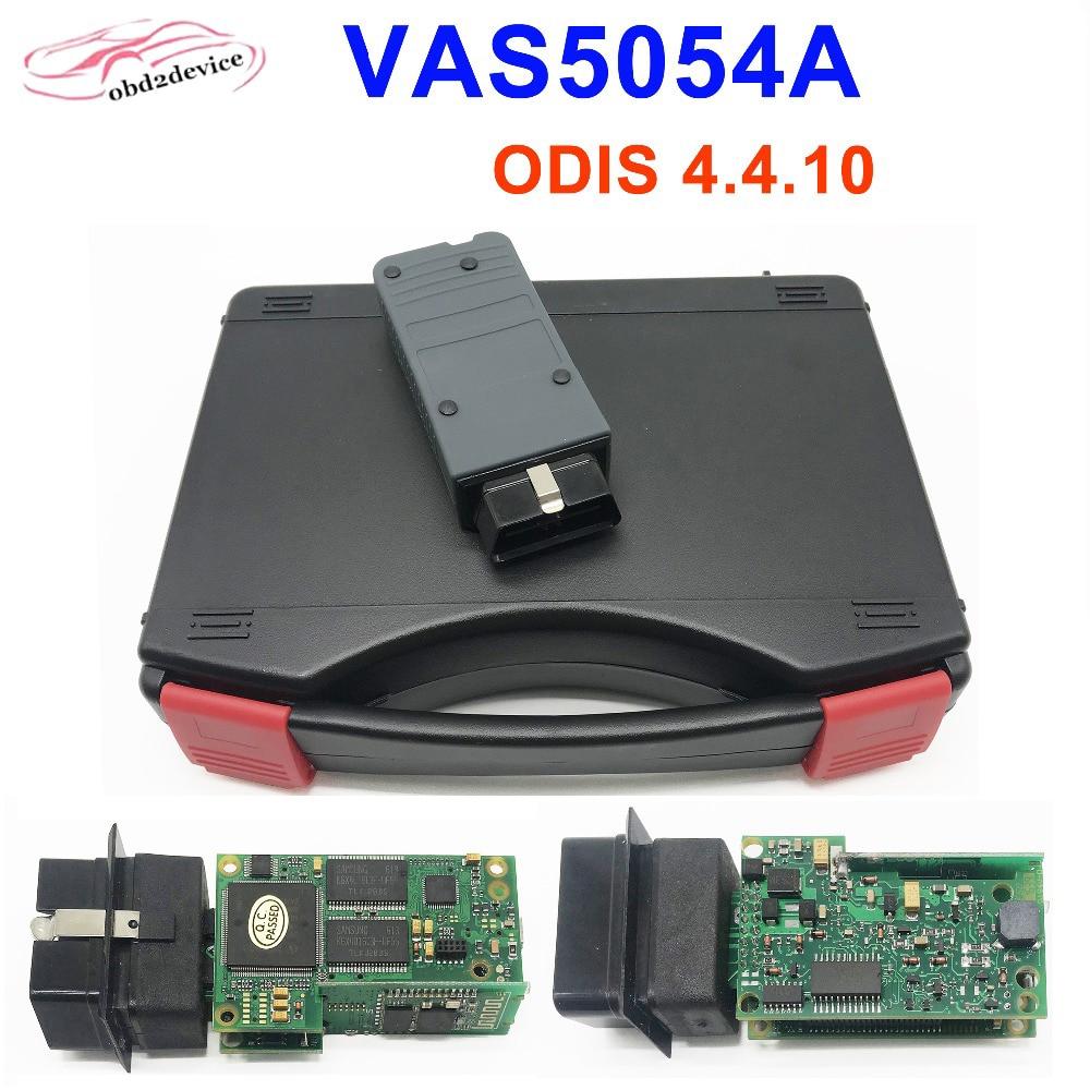 2019 Newest VAS 5054a ODIS 4.4.10 Bluetooth AM2300 OKI M6636B Full Chip Car Diagnostic Tool VAS5054A Auto Scanner withCarry CASE