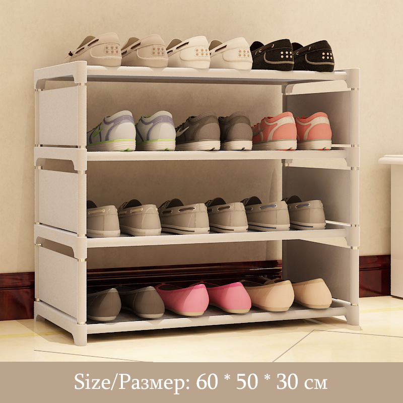 Lower Price with Magic Union Simple Dust-proof Shoe Rack Multi-layer Assembly Cloth Shoe Cabinet Home Dormitory Shoes Shelf Storage Cabinet Shoe Cabinets