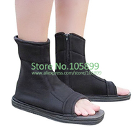 Ninja Black Cosplay Halloween Shoes White From Naruto