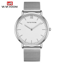 2019 Quartz Wrist Watches Men Top Brand Luxury Business Watches Male Full Steel Clock Milan Mesh Relogio Masculino Reloj Hombre все цены