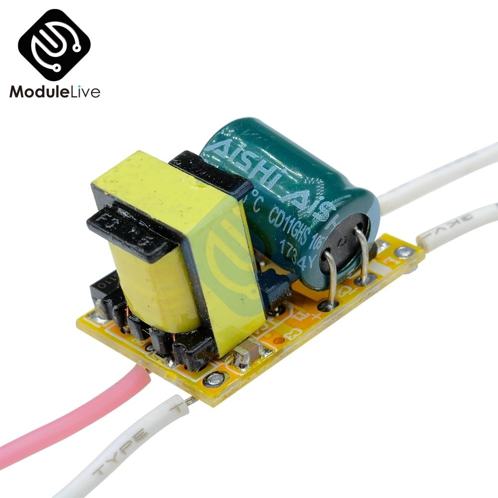 Hot Sale 3w 100ma Dc 9v 12v Led Light Driver Drive Transfomer Chip Controller Circuit Power Supply Transformer Ac 85 265v Good Radiating Module Board