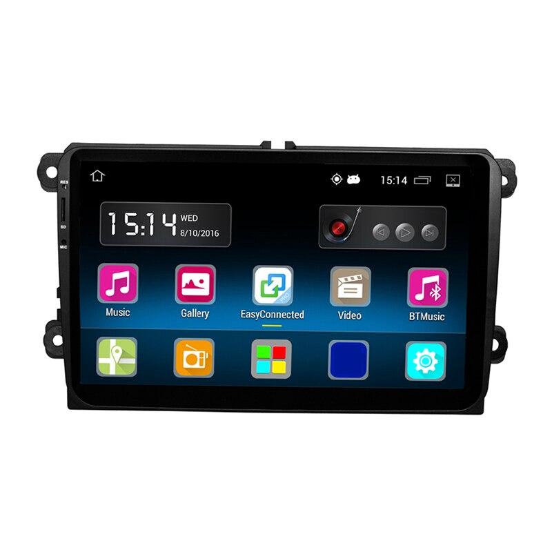 RM-VWTY91 Android 5.1 2DIN Autoradio Stereo Speler GPS 1G DDR3 + 16G - Auto-elektronica