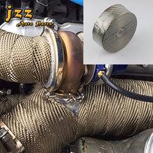 JZZ Universal Exhaust Header Heat Wrap Tape/exhaust wrap tape support 1000 degree high temperature