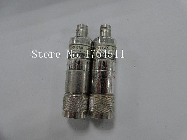 [BELLA] ORIGINAL 420A 0.01-12.4GHz Coaxial Detector N-BNC