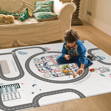 MrY Odorless Moisture-proof Game Pad Baby Crawling Mat Thickening Environmental Protection Mat Developing Mat for Children Game Pad good little baby crawling mat climb pad double sided pattern of increased moisture thicker section skid game blanket outdoor pad