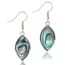 Lancharmed Horse eye female abalone shell ladies earrings fashion womens  plated earring