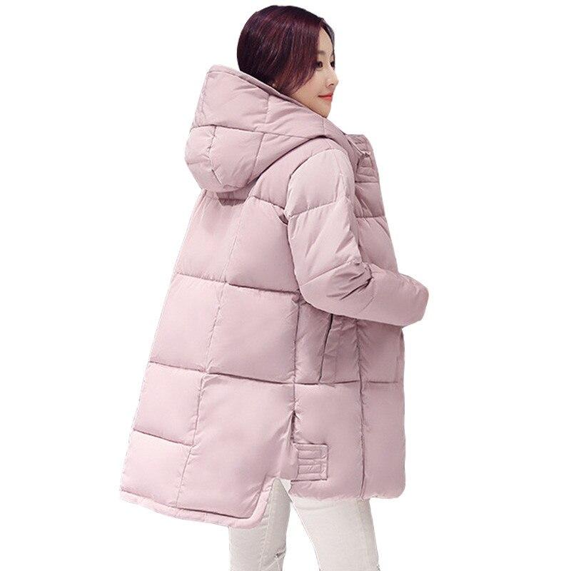 2018 New Long   Parkas   Female Women Winter Coat Thickening Cotton Winter Jacket Womens Outwear   Parkas   for Women Winter Outwear