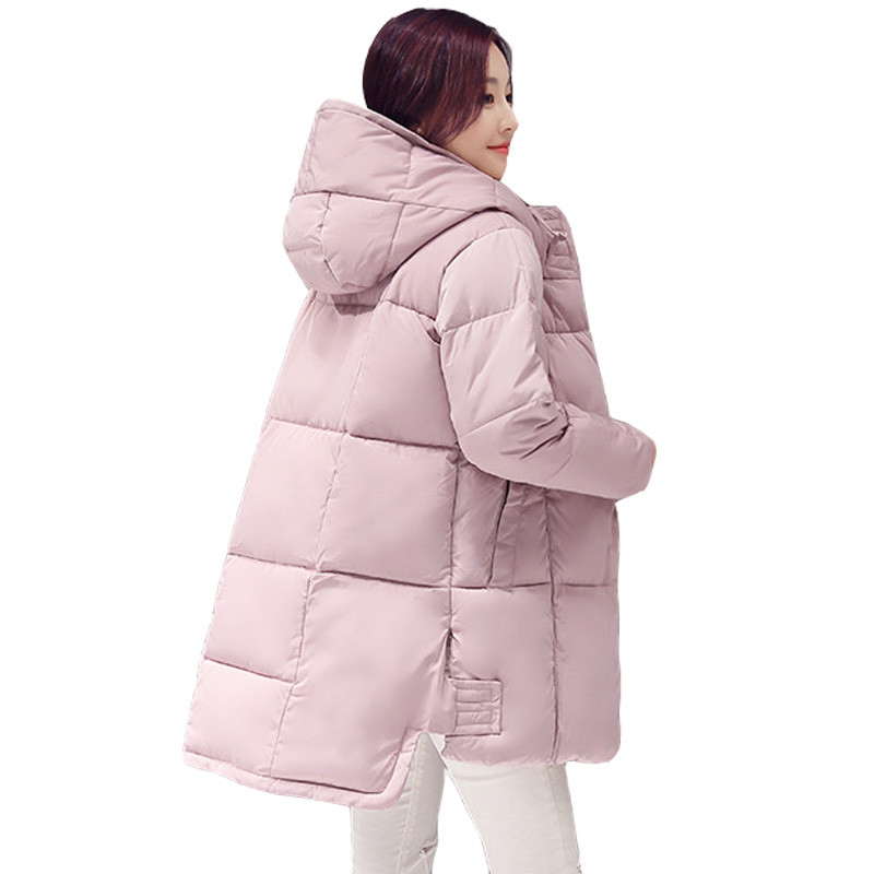 2019 New Long   Parkas   Female Women Winter Coat Thickening Cotton Winter Jacket Womens Outwear   Parkas   for Women Winter Outwear