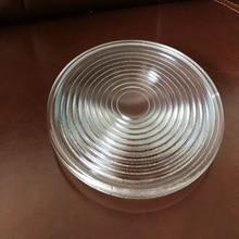 Diameter200mm EFL100mm Round Glass Spotlight Fresnel Lens for Stage Lamp Magnifier Threaded Lenses