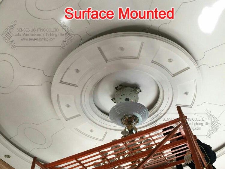 remoto automático (peso avaliado máximo 250kgs, cabo de 6 m)