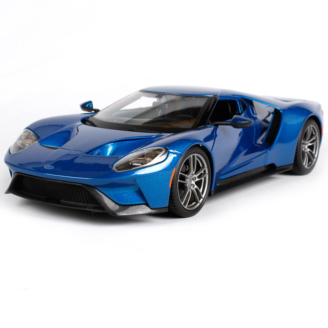 Maisto 1 18 2017 Ford Gt Sports Car Cast Model Toy New In Box