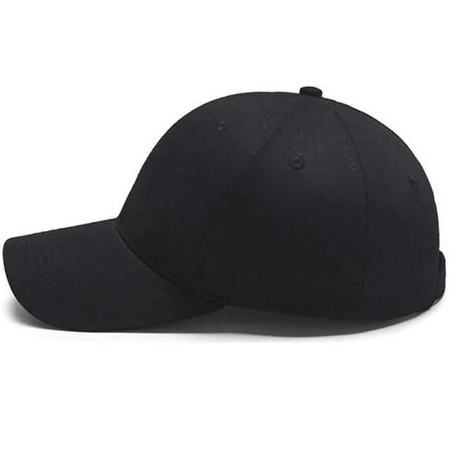 34dc7997223 Snapback Baseball Cap Plain Canvas Dad Hat Hip Hop Men White Trucker Hats  Women Summer Casual