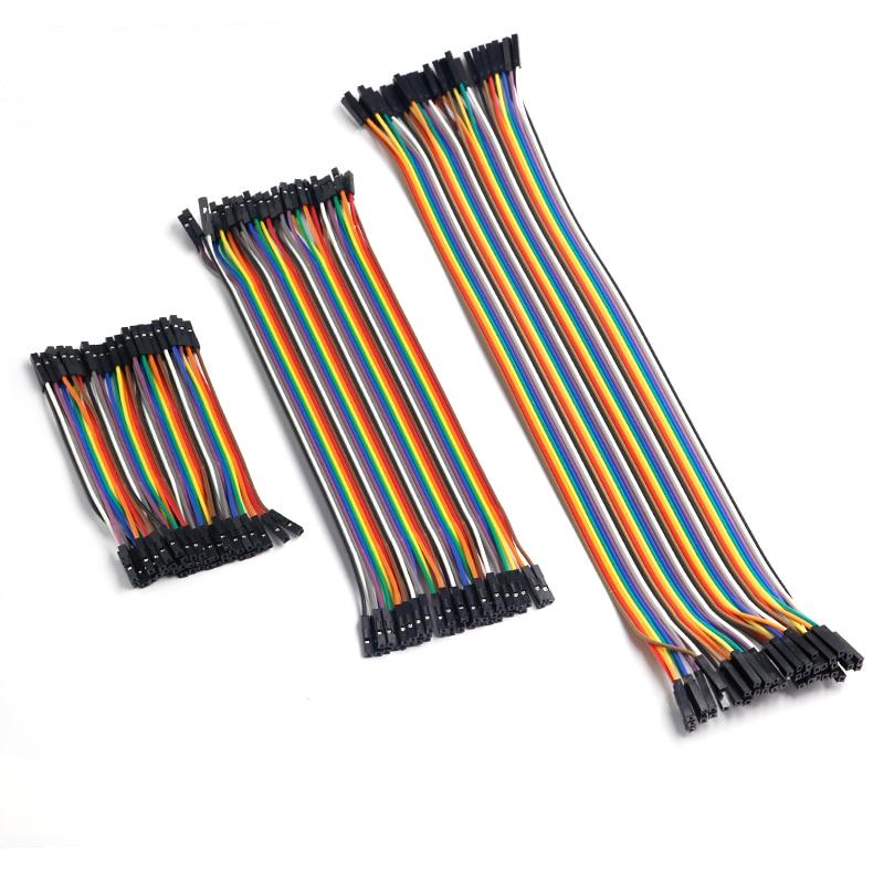 Dupont Line 10 см/20 см/30 см папа-Папа+ мама-мама соединительный провод Dupont кабель