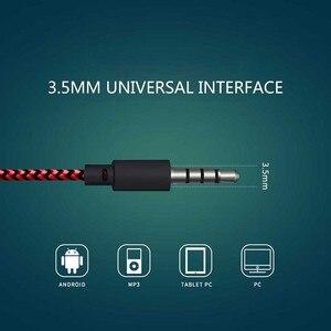 Image 3 - 3.5ミリメートル有線スポーツ亀裂イヤホン超低音イヤフォンヘッドセット有線ヘッドフォンiphoneサムスンxiaomiのmic MP3 4アンドロイドios