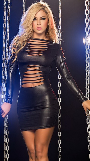 Leather latex sexy and
