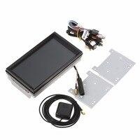 K5058 7 дюймов большой дисплей автомобиля экрана HD DVD машина GPS мультимедийный плеер комплект дропшиппинг