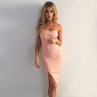 Lossky 2018 Summer Women Dress Sexy Party Dresses