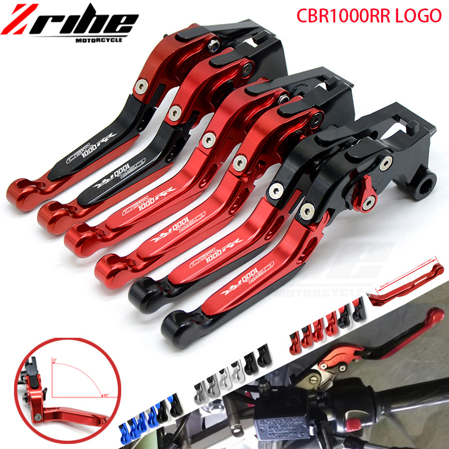 for Folding Extendable Motorcycle Brake Clutch Levers For Honda CBR1000RR / FIREBLADE CBR 1000 RR 2004 2005 2006 2007 04 05 06 0 motorcycle parts led tail brake light turn signals for honda cbr 600rr cbr1000rr rr fireblade smoke
