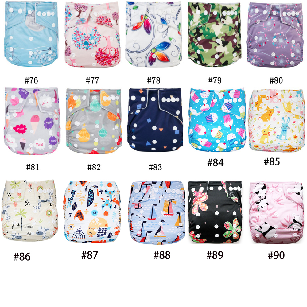 11/11 Celebrate Big Promotion Baby Diapers Babyland 2019 New Washable Eco-Friendly Cloth Diaper Adjustable Nappy Reusable Diaper