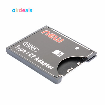 NEW Useful SDXC SDHC to Standard Compact Flash Type I Cards Converter SD to CF Card Reader