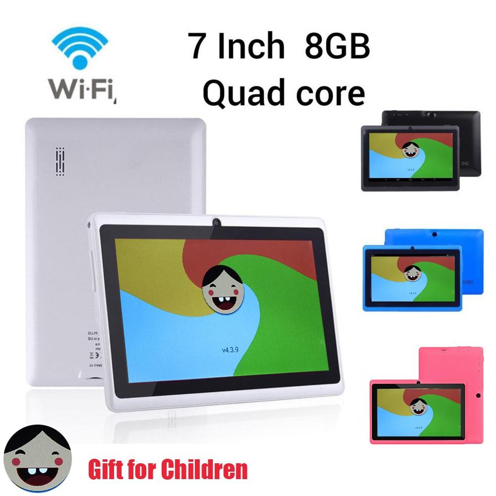 Unterhaltungselektronik 8 Gb Dual Kamera Studie App Für Kinder Geschenk Moderater Preis Mp4 Player GemäßIgt Mode Q880 7 Zoll Mp4 Player Google Android 4.4 Quad Core Tablet Pc 512 M