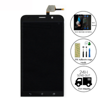 High Quality Black LCD Display Touch Screen Digitizer Assembly With Tools Accessories For Asus Zenfone 2