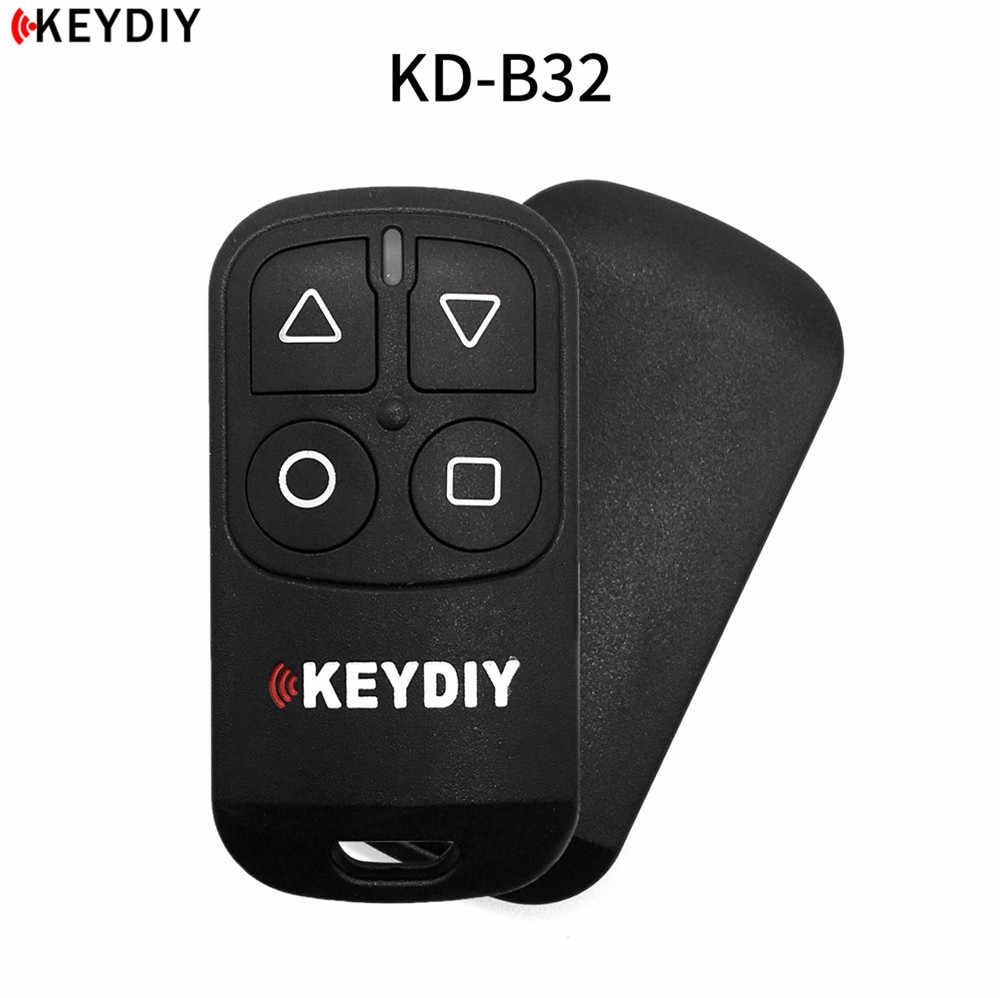 1pcs,KEYDIY 4 Buttons General Garage Door Remote B32 for KD900 URG200 KD-X2/KD MINI Remote Generater