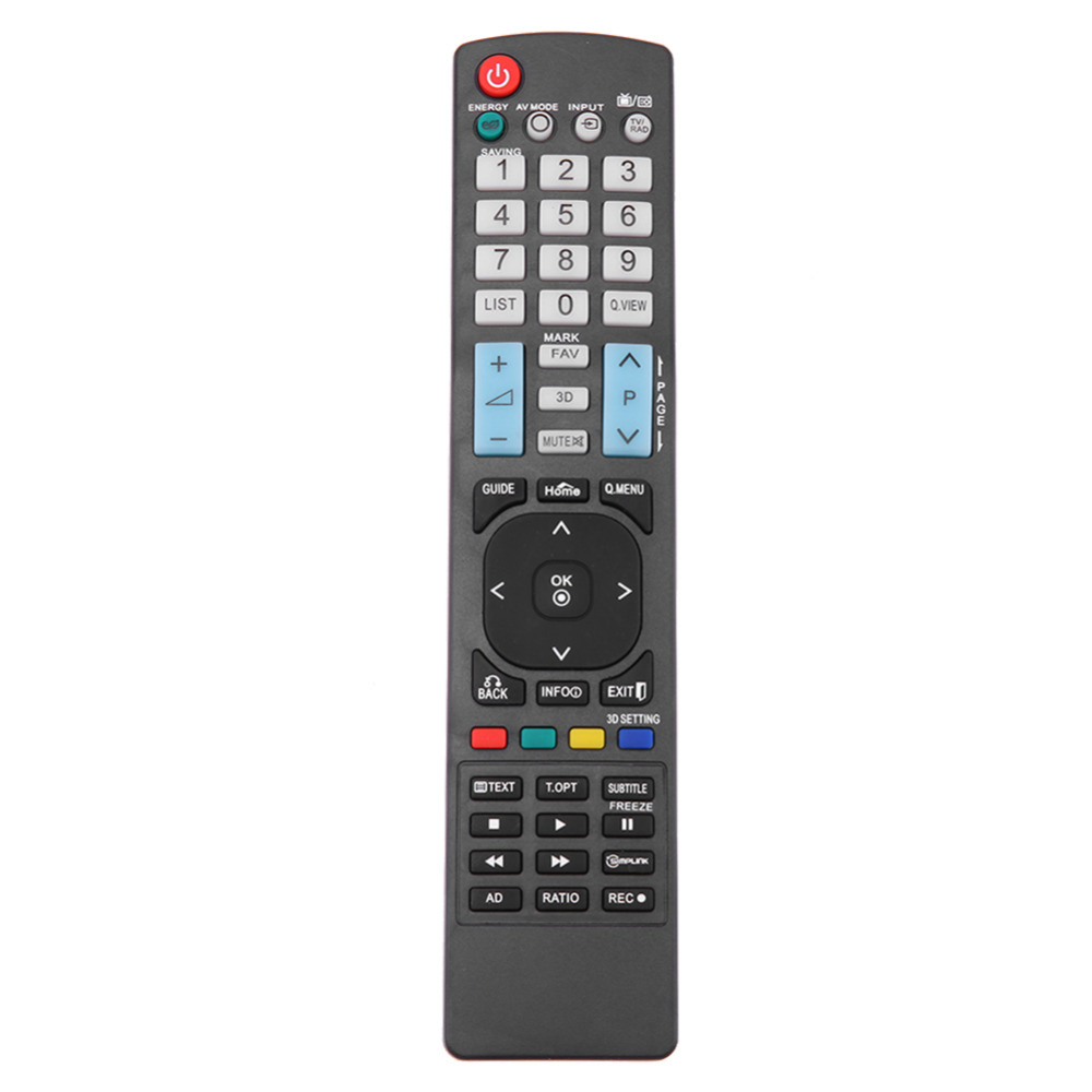 Universal TV Remote Control Replacement LED Plasma Television Remote Control Unit Black for LG AKB73756504 32 42 47 50 55