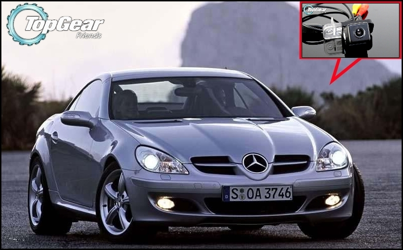 Car Camera For Mercedes Benz MB SLK R171 High Quality Rear View Back Up Camera For TOPGEAR Friends Tuning | CCD + RCA