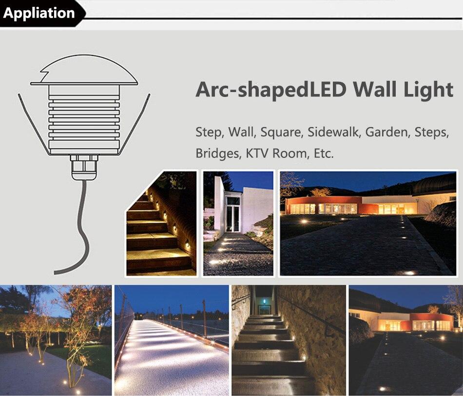 3W Wall Buried Light 10