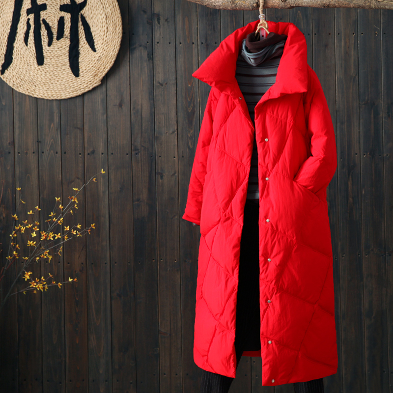 Winter Jacket Women 2019 New Lady Winter Warm Coat Women Slim White Duck Down Jacket Long Down Parka Female Down Coat Outwear
