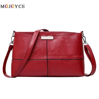 2018 new solid plaid envelope women handbag High Quality ladies crossbody messenger shoulder bags 30x18x8cm Black Red