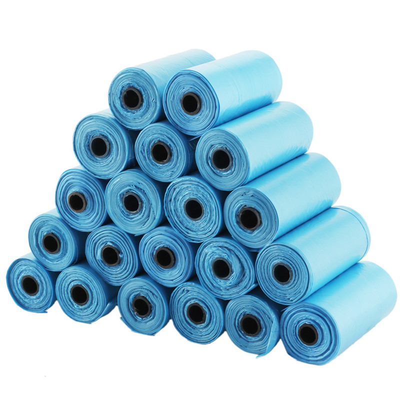 20 Rolls(400Pcs) Resistant Plastic Bag for Waste Pick Up in your Vehicle
