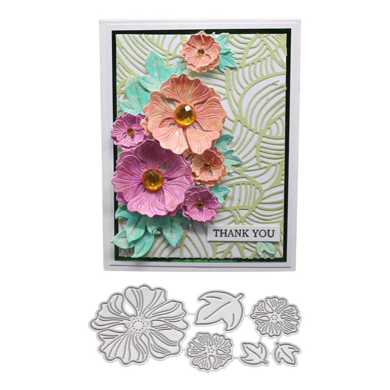 Flower Cutting Dies Stencil DIY Craft Scrapbooking Paper Card Embossing Decor