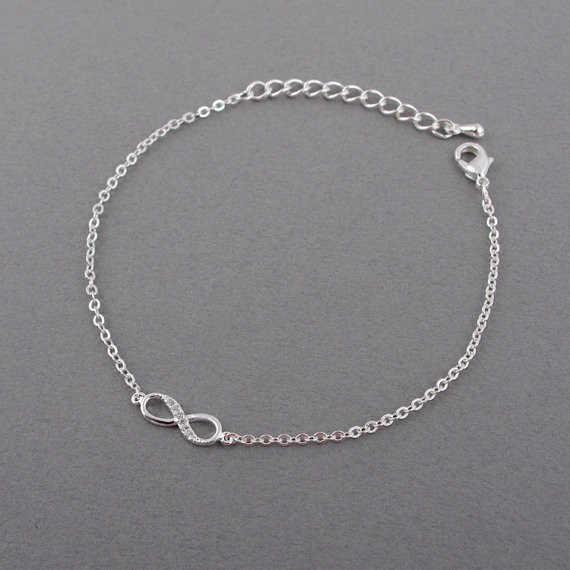 Cxwind Hot Lucky 8 Bracelet CZ Infinity Cross Bracelets for Women Men Friendship Bracelets Jewelry pulseras mujer