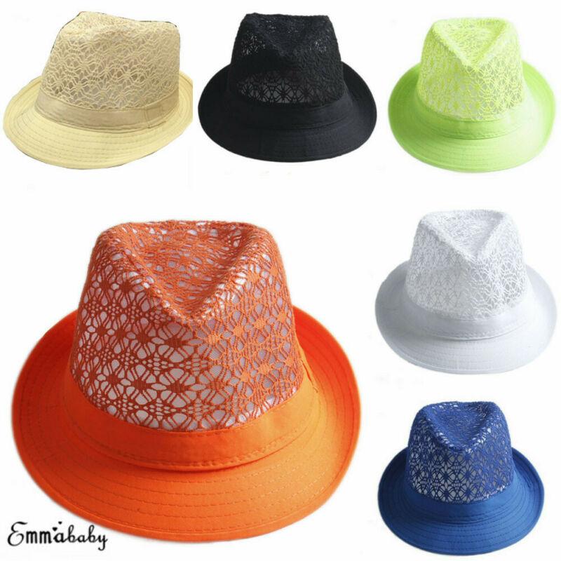 Adult High Quality Fashion Brown Vintage Felt Hat Fedora Gents Ladies Trilby